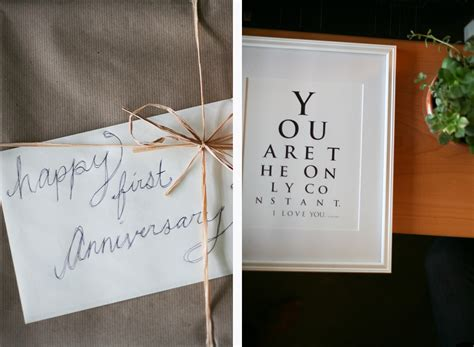 Wedding Anniversary Ideas Coast by One Year Gifts For Easy Craft Ideas