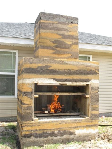 Rammed Earth Fireplace by Wood Stoves From Rammed Earth