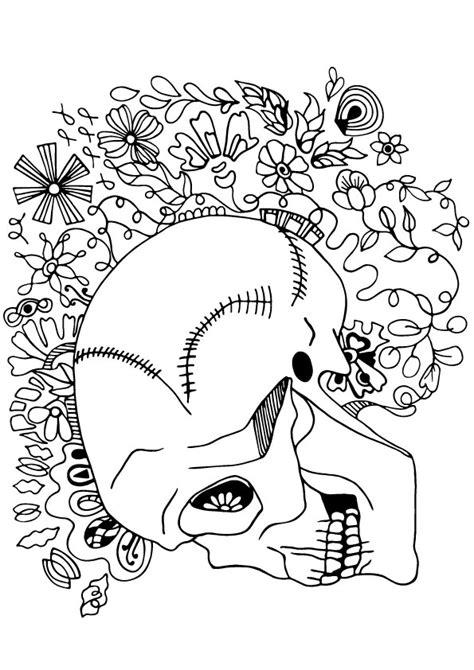 Esqueleto para Colorir | Como Desenhar Bem Feito