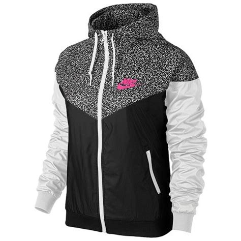 Nike Windrunner Pink Black Nike Windrunner Aop Jacket S Black White Hyper Pink