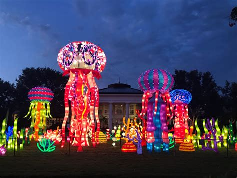 Botanical Gardens Lantern Festival The Lantern Festival Is Now Open At Daniel Stowe Botanical Garden And It S