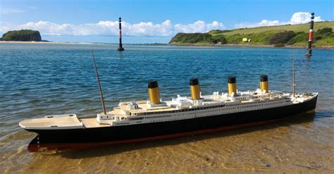 titanic boat in water saving a 3d printed titanic model from the original s fate