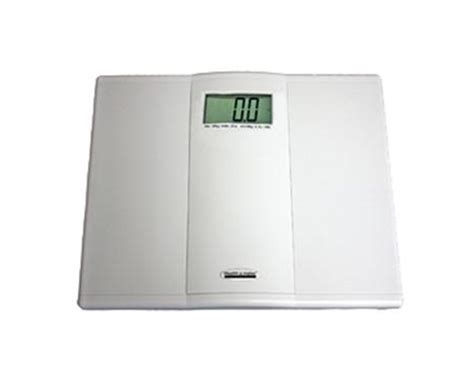 professional home care digital floor scale 397 lb capacity each 12 1 4 w x 12 1 4 d inch 800kl health o meter professional digital floor save at tiger inc