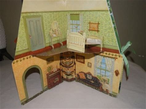 pop up doll house vtg 1994 anne of green gables pop up doll house book with 5 paper dolls ebay
