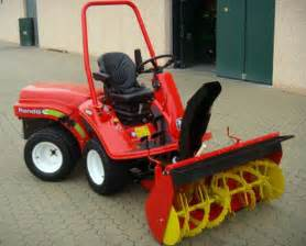 Series snow blowers from kersten for ride on mowers 18 40 hp