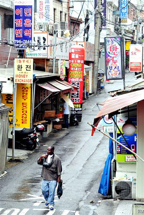 tattoo shops in itaewon korea are africans leaving itaewon