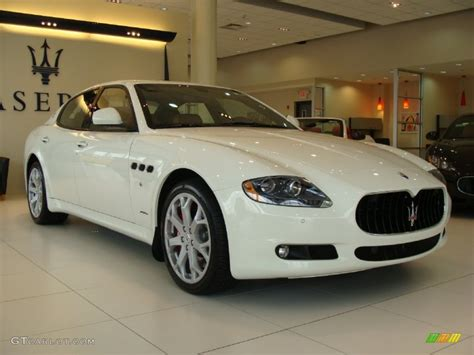 White Maserati Quattroporte 2012 Bianco Eldorado White Maserati Quattroporte S 59859553 Gtcarlot Car Color Galleries