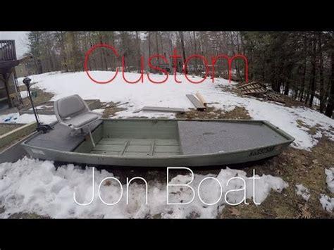 custom 12 foot jon boat youtube - 12 Foot Jon Boat Custom