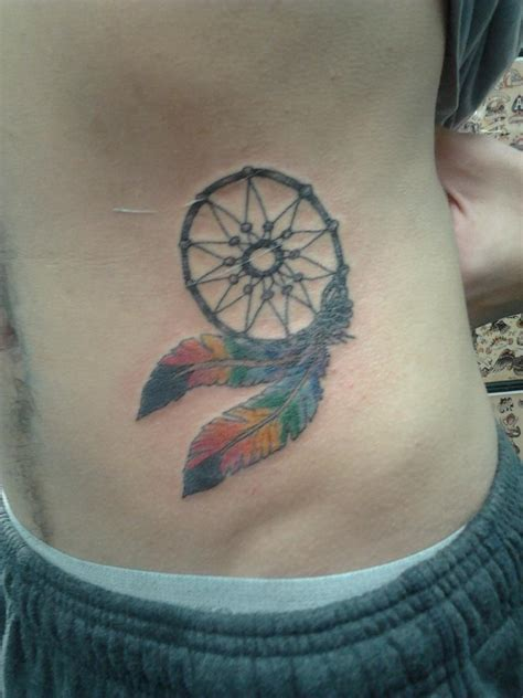 dream catcher tattoo stomach dreamcatcher tattoo mine by pieman155 on deviantart