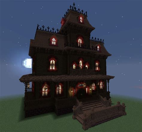 1000 Images About Minecraft On Pinterest Haunted House Blueprints Minecraft