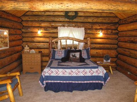 Inside Log Cabins Pictures by Inside Saddlehorn Log Cabin Picture Of Jjj Wilderness Ranch Augusta Tripadvisor