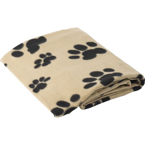warme decke hunde decke pet polar fleece warm weich pfotenabdruck