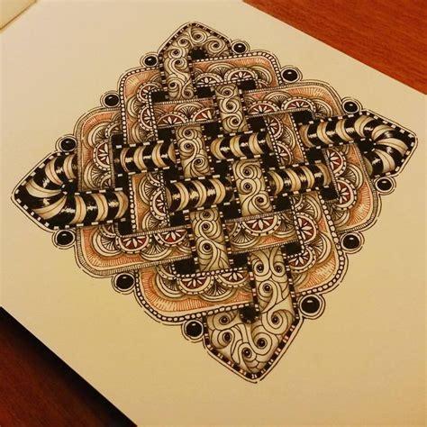 doodle mac 46 best tangle images on mandalas
