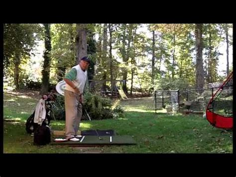 peak performance golf swing catcher s mitt position swing surgeon don trahan peak