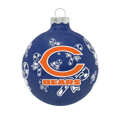 amazon com nfl ornaments chicago bears tree ornaments ornament shop