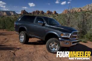 ram unveils 2017 ramcharger concept at easter jeep safari