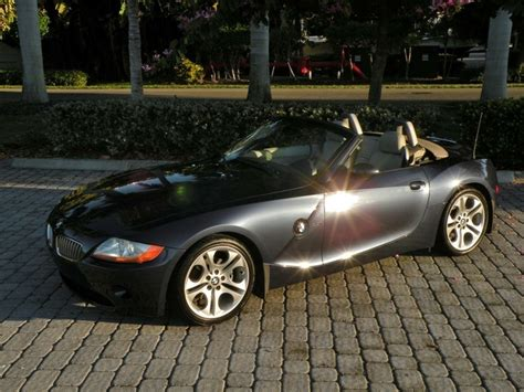 2003 bmw z4 3 0i roadster for sale 2003 bmw z4 3 0i roadster for sale in fort myers fl stock t22879