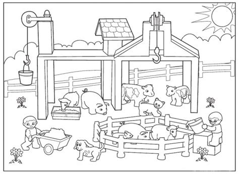 donde encontrar imagenes sin copyright 50 dibujos de granjas y animales para colorear colorear