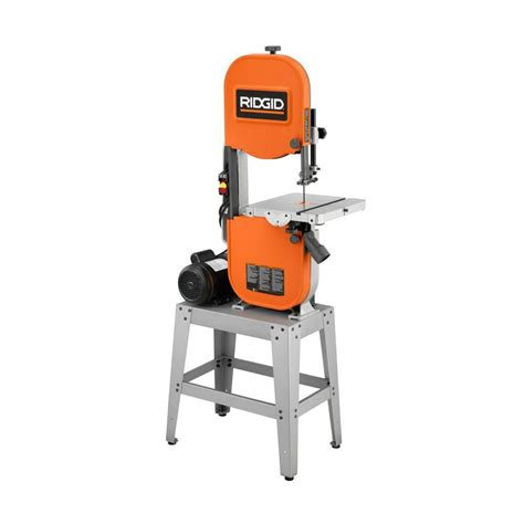 ridgid 14 in bandsaw r474 the home depot ridgid bs1400 band saw tool review