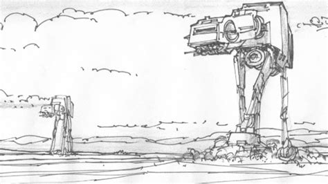 coloring pages hoth empire strikes back never before seen hoth battle