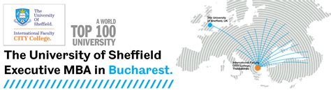 Mba Sheffield Bucharest by The Of Sheffield Executive Mba In Bucharest