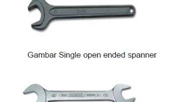 Kunci Ring Pas Maxpower 7mm kunci pas open end wrench open ended spanner teknik