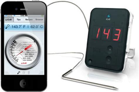 termometri per cucina igrill termometro digitale da cucina per iphone