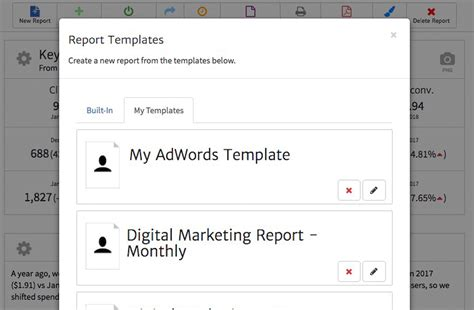 An Exle Adwords Report Template For Agencies Megalytic Blog Adwords Caign Report Template