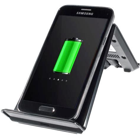 Phone Charging Stand by Itian A6 Qi Draadloze Oplader Bureauhouder Zwart