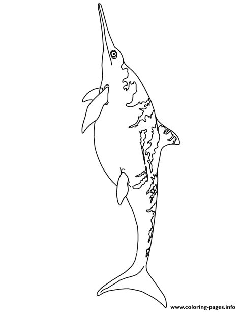 triassic dinosaurs coloring pages ichthyosaur coloring pages coloringpagesonly com