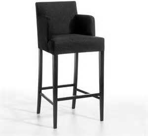 chaise de table haute victor flanelle contemporain