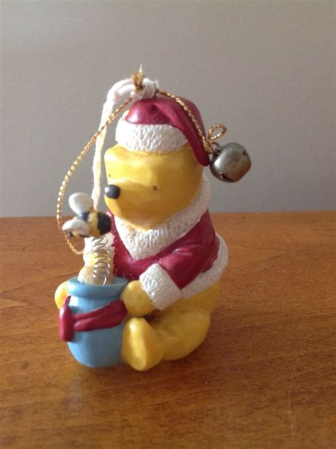 disney christmas ornament classic winnie the pooh santa