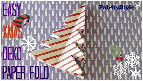 Bastelideen Zu Weihnachten 3631 by Origami Diy Origami Tree Tannenbaum Falten