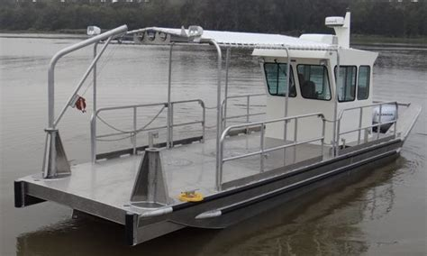 flat bottom work boats for sale 30 work boats scully s aluminum boats inc