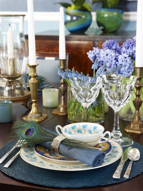 elegant table settings for all occasions hgtv thanksgiving table setting ideas entertaining ideas