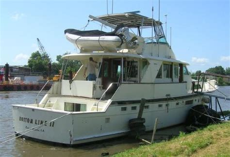 hatteras boats for sale by owner 1975 hatteras 58 yachtfish owner financing available will