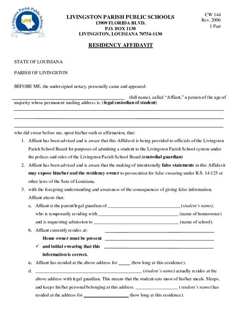 best photos of notary legal guardianship forms affidavit