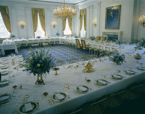 Restaurants Near White House by White House Rooms Vermeil Room State Dining Room