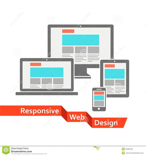 design responsive free responsive web design royalty free stock images image