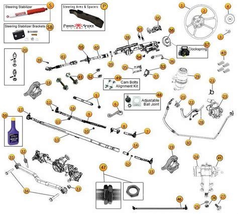 2007 Jeep Wrangler Parts Jeep Steering Components 2007 2014 Jeep Wrangler Jk