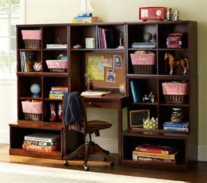 Wall Desk System by Cameron Wall Desk System Pottery Barn