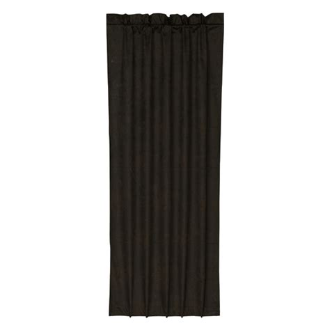 black leather curtains chocolate faux leather curtain
