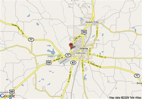 atlanta texas map map of best western pineywoods inn atlanta