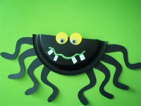 Paper Plate Spider Craft - s is for spider craft kit crafts for miss