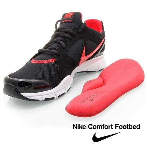 nike comfort footbed running shoes nike in season tr 2 womens shoes black pink