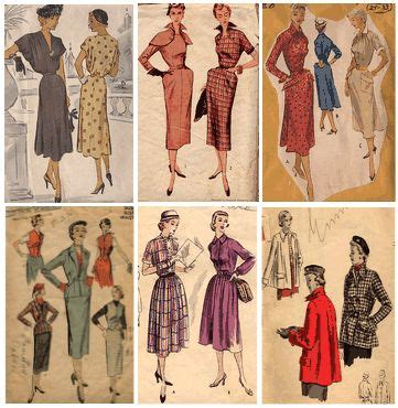 1950s dressmaking patterns glamour fashion fifties ruchette look in the 1950 s fashion trends