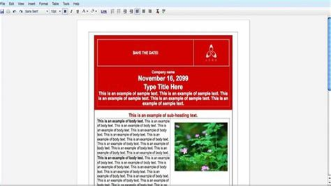 How To Create An Event Flyer With Google Docs Youtube Advertisement Template Docs