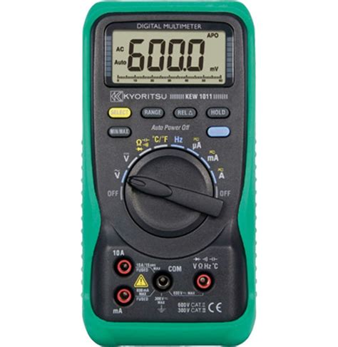 Multitester Kyoritsu kyoritsu 1011 multimeter with temperature test equipment