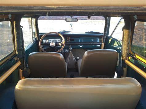 1970 jeep commando interior seller of cars 1970 jeep commando green