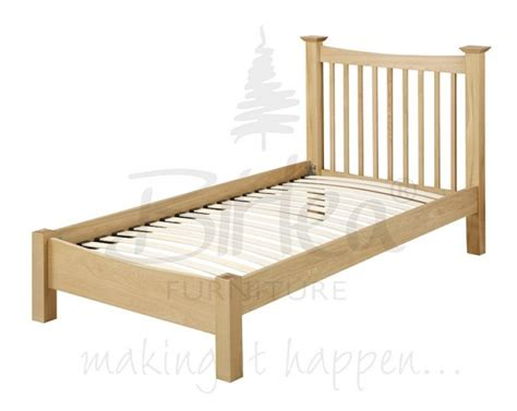 Boutique Bed Frames Uk Birlea Kimberley 3ft Single Solid Oak Bed Frame By Birlea